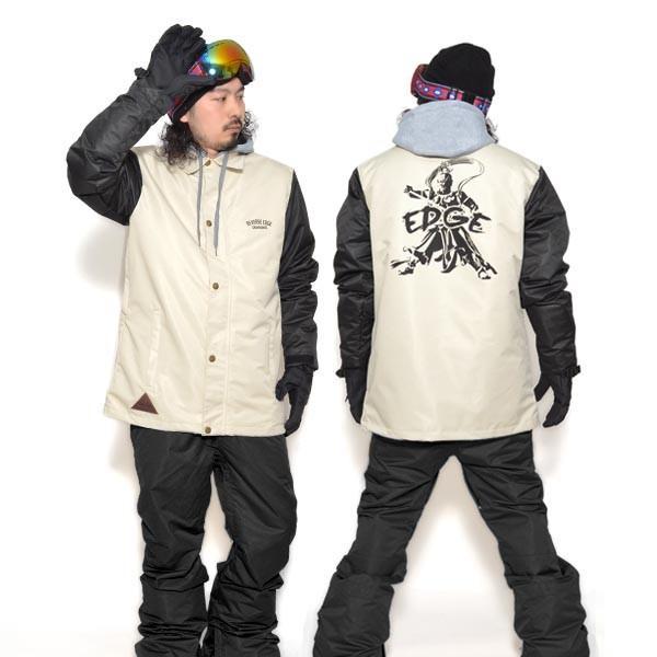 送料無料 スノーボードウェア メンズ Coach Jacket コーチジャケット バックプリント スノーボード ウェア スノボ SNOWBOARD JACKET 17-18 2017-2018冬新作|elephant|30