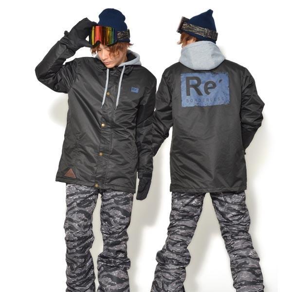 送料無料 スノーボードウェア メンズ Coach Jacket コーチジャケット バックプリント スノーボード ウェア スノボ SNOWBOARD JACKET 17-18 2017-2018冬新作|elephant|34