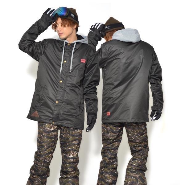 送料無料 スノーボードウェア メンズ Coach Jacket コーチジャケット バックプリント スノーボード ウェア スノボ SNOWBOARD JACKET 17-18 2017-2018冬新作|elephant|36