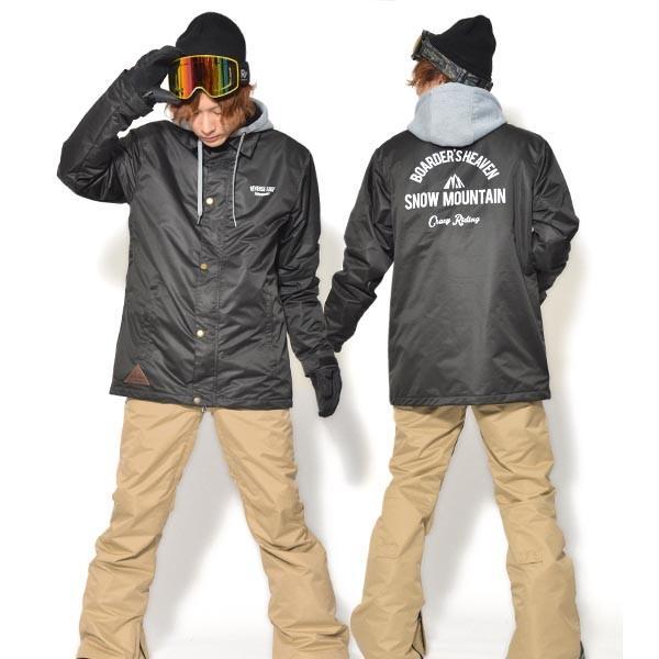 送料無料 スノーボードウェア メンズ Coach Jacket コーチジャケット バックプリント スノーボード ウェア スノボ SNOWBOARD JACKET 17-18 2017-2018冬新作|elephant|21