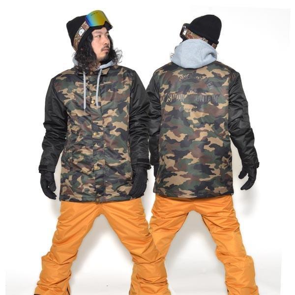 送料無料 スノーボードウェア メンズ Coach Jacket コーチジャケット バックプリント スノーボード ウェア スノボ SNOWBOARD JACKET 17-18 2017-2018冬新作|elephant|22