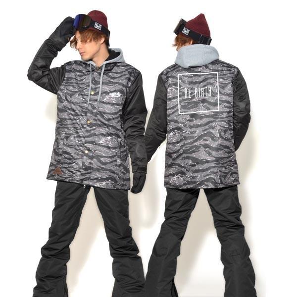 送料無料 スノーボードウェア メンズ Coach Jacket コーチジャケット バックプリント スノーボード ウェア スノボ SNOWBOARD JACKET 17-18 2017-2018冬新作|elephant|26