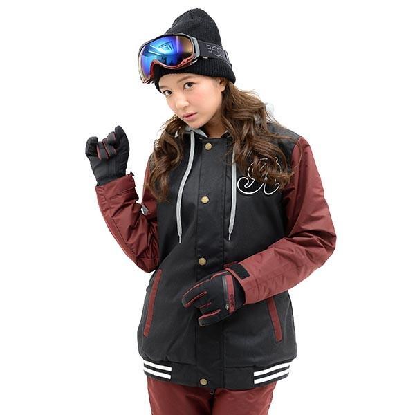 スノーボード ウェア レディース スタジャン ジャケット スノーボード スノボ SNOWBOARD スノボウエア 女性 送料無料|elephant|10