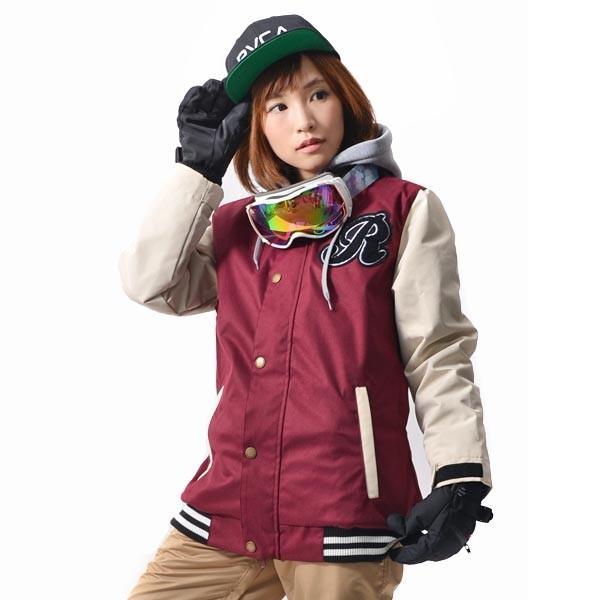 スノーボード ウェア レディース スタジャン ジャケット スノーボード スノボ SNOWBOARD スノボウエア 女性 送料無料|elephant|15