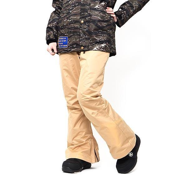 スノーボードウェア レディース パンツ レギュラーフィット スノーパンツ 立体縫製 スノボパンツ  スノボウエア SNOWBOARD 送料無料|elephant|24
