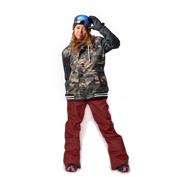 スノーボード ウェア 上下 セット レディース スタジャン ジャケット ストレッチ パンツ スノーボード スノボウエア 女性 SNOWBOARD 送料無料|elephant|25