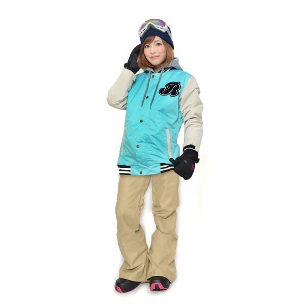 スノーボード ウェア 上下 セット レディース スタジャン ジャケット ストレッチ パンツ スノーボード スノボウエア 女性 SNOWBOARD 送料無料|elephant|30