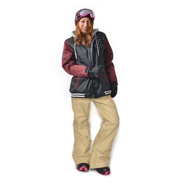 スノーボード ウェア 上下 セット レディース スタジャン ジャケット ストレッチ パンツ スノーボード スノボウエア 女性 SNOWBOARD 送料無料|elephant|14
