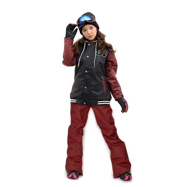スノーボード ウェア 上下 セット レディース スタジャン ジャケット ストレッチ パンツ スノーボード スノボウエア 女性 SNOWBOARD 送料無料|elephant|15