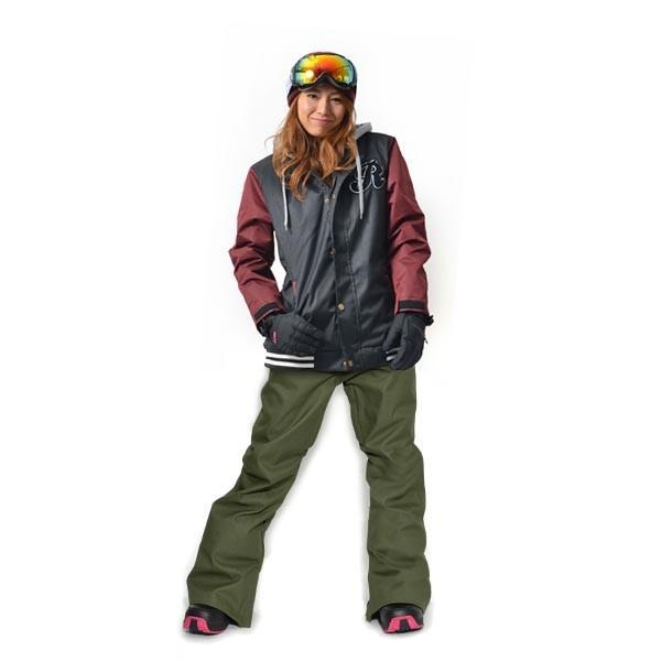 スノーボード ウェア 上下 セット レディース スタジャン ジャケット ストレッチ パンツ スノーボード スノボウエア 女性 SNOWBOARD 送料無料|elephant|16