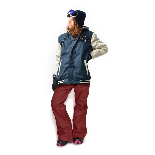スノーボード ウェア 上下 セット レディース スタジャン ジャケット ストレッチ パンツ スノーボード スノボウエア 女性 SNOWBOARD 送料無料|elephant|18