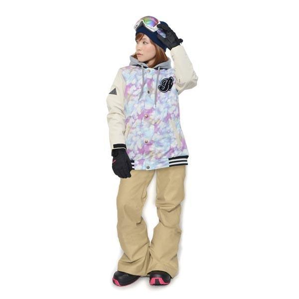 スノーボード ウェア 上下 セット レディース スタジャン ジャケット ストレッチ パンツ スノーボード スノボウエア 女性 SNOWBOARD 送料無料|elephant|21