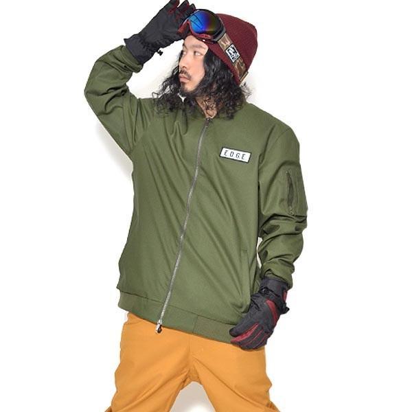 送料無料 スノーボードウェア メンズ MA-1 ジャケット スノーウエア スノーボード ウェア スノボ ワッペン 無地 SNOWBOARD MA1 JACKET 17-18 2017-2018冬新作 elephant 21