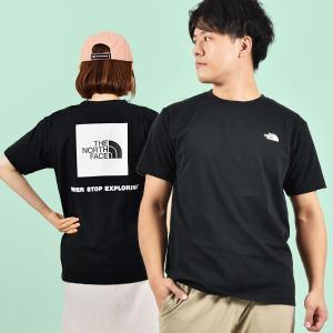2021春夏新作 ノースフェイス Tシャツ メンズ 半袖 生地厚 THE NORTH FACE バック スクエア ロゴ ティー バックプリント nt32144|エレファントSPORTS PayPayモール店