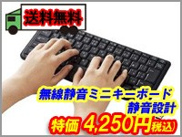 ELECOM (エレコム) 無線静音ミニキーボード 静音設計 ブラック TK-FDM091STBK