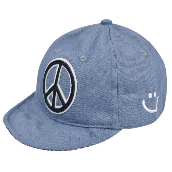 イニシャルキャップ 帽子 ベビー キッズ 46cm-50cm UVカット 紫外線対策 2way デニム スウェット 赤ちゃん ユニセックス 春夏 おしゃれ 1才 2才 3才|elmundo|20