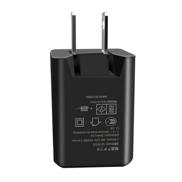 USB 充電器 ACアダプター USBポート2口タイプ 急速 PSE認証 5V 2.1A 折りたたみ式プラグ USB充電器 USB電源アダプタ 国内1年保証 GS-052121|elukshop|03