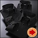 ブラック系・ワイシャツ・セット