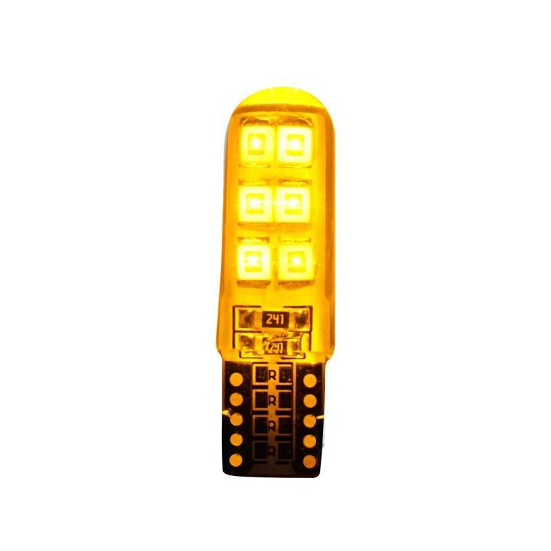 T10 LEDバルブ 電球 ポジション PVC製 樹脂バルブ ルームランプ  ナンバー灯 ライセンスランプ バックランプ  特価セール 全国送料無料|emonoplus|10
