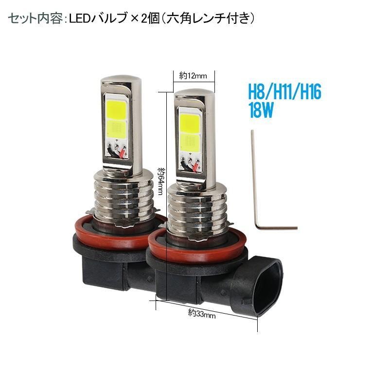 LEDバルブ デイライト フォグランプ専用 イエロー ホワイト 2色フォグ ダブルカラー 角度調整可能 2色切り替え式フォグライト LED 超耐久 emonoplus 09