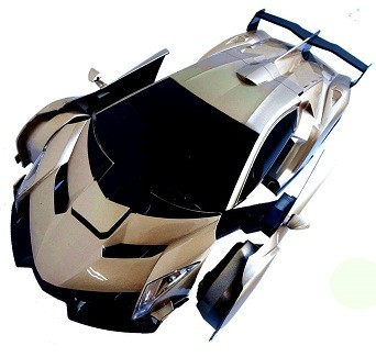いいもの見つけた!変身するラジコンカー ランボルギーニ・ロボ