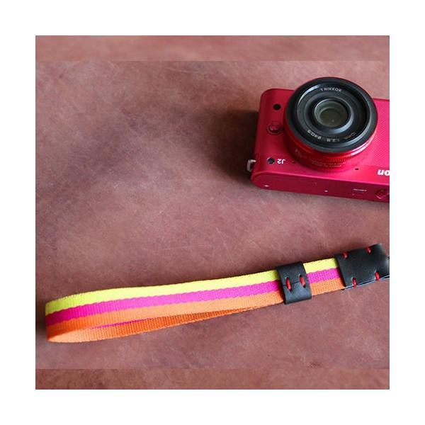 おしゃれ カメラストラップ COLOR カメラアクセサリー|empt|10