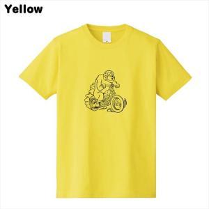 [全3色] ツーリングベアプリントTシャツ|ener|07