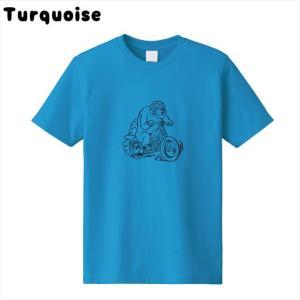 [全3色] ツーリングベアプリントTシャツ|ener|08