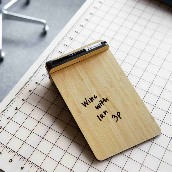 ホワイトボード おしゃれな 卓上 メモ ToDo ボード 送料無料 スティール または 竹製|enitusa|09