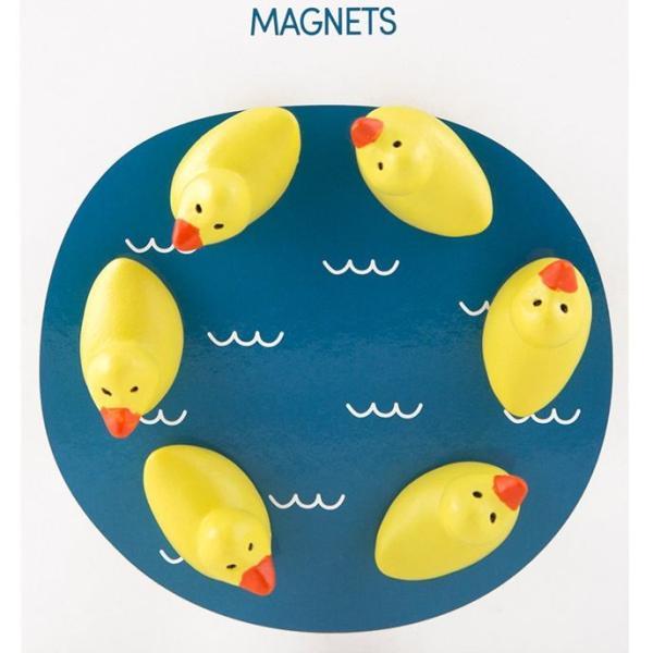 かわいい 磁石 ネオジム アニマル マグネット イヌ ネコ ハリネズミ ウサギ テントウムシ アヒル|enitusa|20