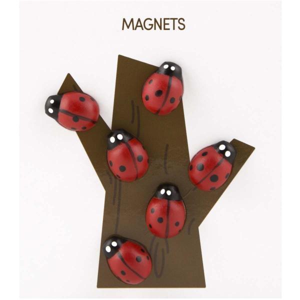 かわいい 磁石 ネオジム アニマル マグネット イヌ ネコ ハリネズミ ウサギ テントウムシ アヒル|enitusa|18