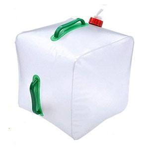 ウォータータンク 20L 防災 防災グッズ 折りたたみ レバー式 ポリタンク 給水タンク 大容量  キャンプ BBQ アウトドア|enrich|10