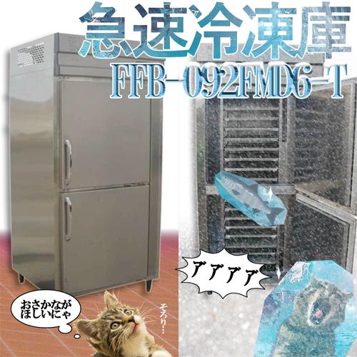 【送料無料】 急速凍結庫 FFB-092FMD6-T 福島工業 2012年式 中古 お客様荷下ろし 【見学 仙台】