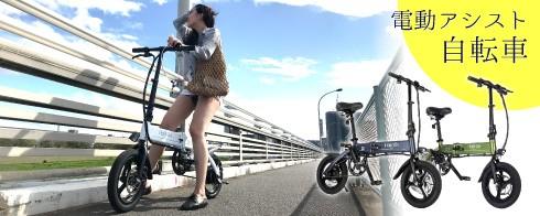 電動アシスタント自転車