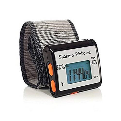 目覚まし時計 起きれる 振動式 再アラーム機能 時報機能 ストップウォッチ機能 バックライト サイレント バイブレーション シェイクンウェイク 消音アラーム|epoca|18