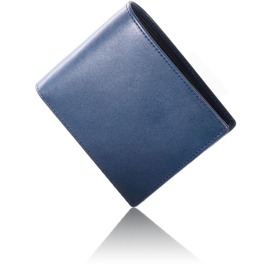 栃木レザー 財布 メンズ 二つ折り 革 本革 二つ折り財布 牛革 小銭入れ 日本製 メンズ財布 薄型 スリム レザー 紳士用 さいふ 男性 ブランド WL16 送料無料|eredita-ys|25