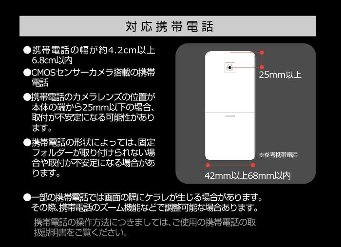 対応携帯電話