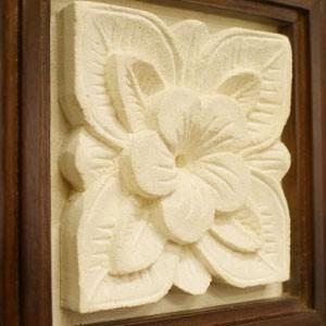 アジアン 壁掛け インテリア お花
