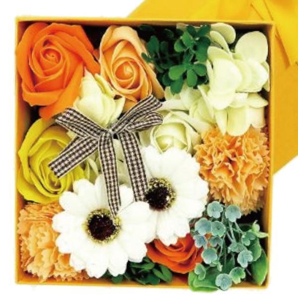 Q-FLA フレグランスボックス アレンジ (薔薇 バラ 花束 バスフレグランス ソープフラワー 入浴剤 母の日 ギフト プレゼント ホワイトデー)(送料無料)|escoshop|10