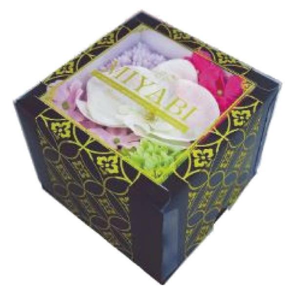 Q-FLA 雅 和バスフレBOX MIYABI S (バスフレグランス ソープフラワー 入浴剤 母の日 ギフト プレゼント ホワイトデー)(送料無料) escoshop 08