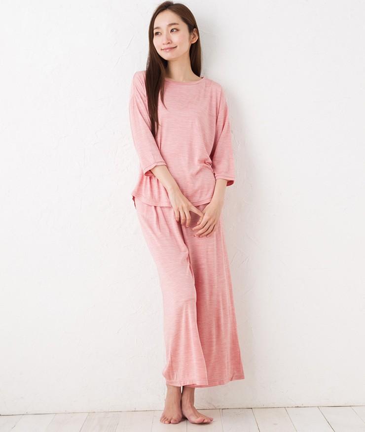 シルク100%ジャージー パジャマ 日本製