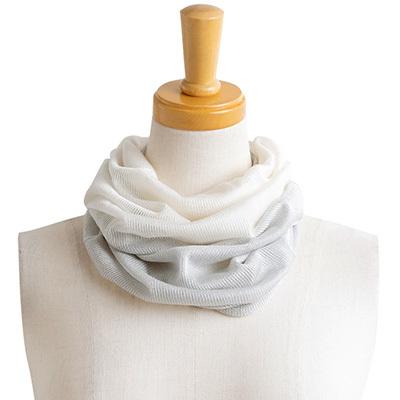シルク100% ネックカバー 日本製 筒状に編まれたホールガーメント