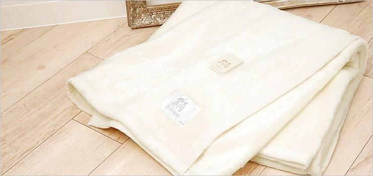 シルク100% 毛布 国産 極上家蚕 日本製