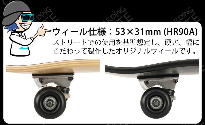 ウィール仕様:53×31mm (HR90A)