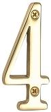 真鍮文字 ブラスナンバー 数字