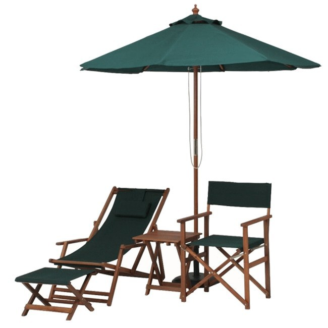 折りたたみテーブル サイドテーブル 幅350×高さ440mm 耐久性に優れ 腐りにくいアカシア材使用♪/≪2脚セット≫木製ガーデンチェアー 折りたたみ可能/ガーデンパラソル 木製 グリーン 幅2100mm 日よけ 日除け対策♪