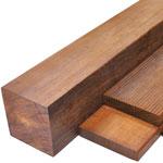 外構アクセント 角柱 ビリアン材 ウリン 高耐久性能