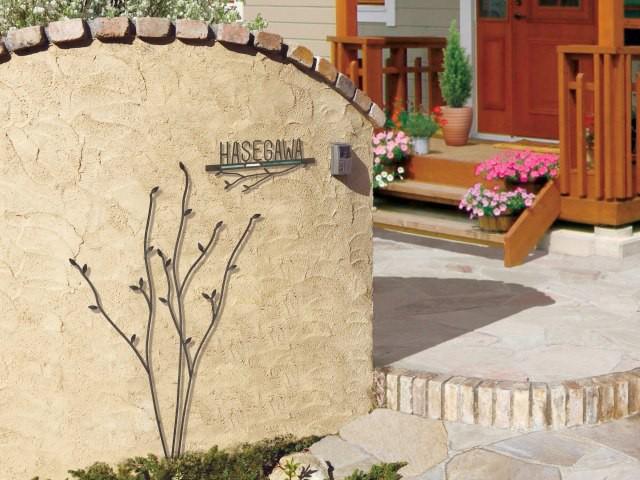 ウォールアクセサリー 06L(左勝手) 壁飾り ガーデン飾り エクステリア 木