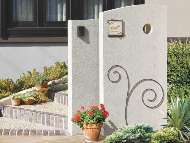 ウォールアクセサリー 04L(左勝手) 壁飾り ガーデン飾り エクステリア