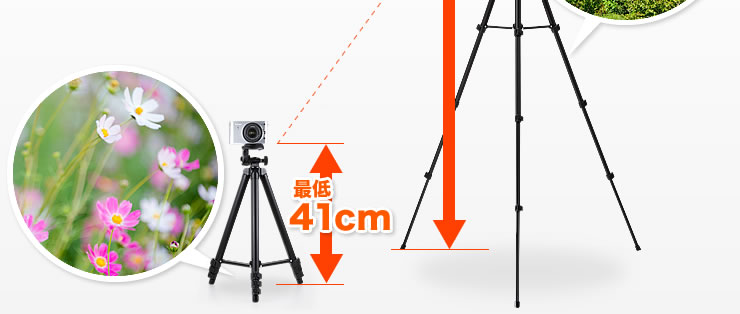 最低41cm